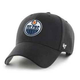 CAP NHL BLACK EDMONTON