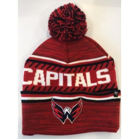 BONNET NHL POMPOM WASHINGTON