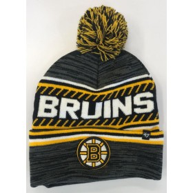 BONNET NHL POMPOM BOSTON