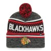 BONNET NHL POMPOM CHICAGO